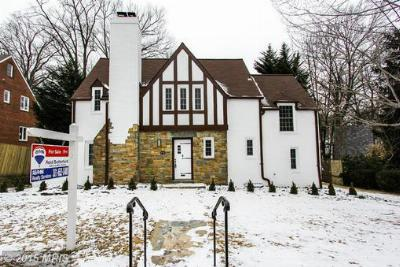Chevy Chase MD Single Family Home Sold: $1,139,000