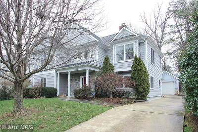 Bethesda MD Single Family Home Sold: $1,395,000