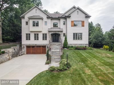 Bethesda Single Family Home For Sale: 7208 Loch Lomond Drive
