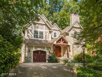 Chevy Chase Single Family Home For Sale: 3511 Leland Street