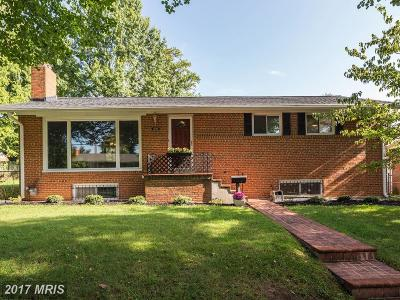 Silver Spring Single Family Home For Sale: 1505 Korth Place