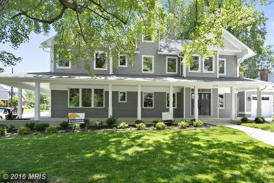 Bethesda MD Single Family Home Sold: $1,225,000