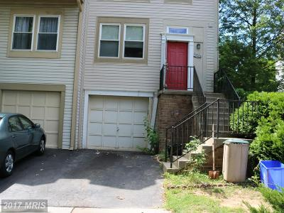 Germantown MD Townhouse For Sale: $258,240