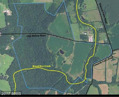 Montgomery, Prince Georges, Anne Arundel, dc, Charles Residential Lots & Land For Sale: 21820 Club Hollow Road