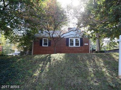 Silver Spring Single Family Home For Sale: 3102 Parker Avenue