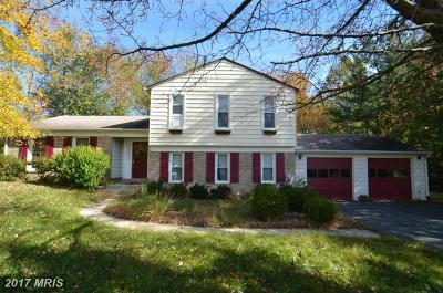 Derwood Single Family Home For Sale: 6711 Garrett Road