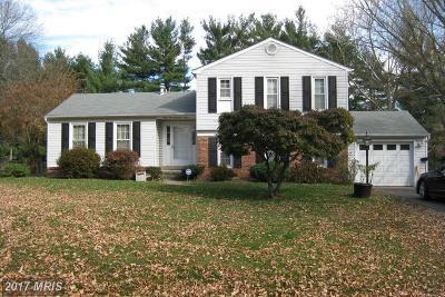 Rockville Single Family Home For Sale: 6509 Pilgrims Cove