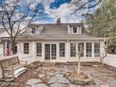 Chevy Chase Single Family Home For Sale: 4413 Bradley Lane