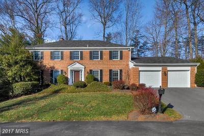 Washington, Burtonsville, Gaithersburg, Germantown, Rockville, Beltsville, Bowie, College Park, Glenn Dale, Greenbelt, Kettering, Lanham, Largo, Laurel, Mitchellville, Upper Marlboro Single Family Home For Sale: 6444 Windermere Circle