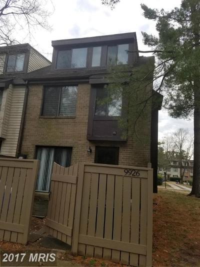 Gaithersburg Single Family Home For Sale: 9926 Brookridge Court