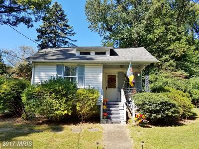 Garrett Park MD Single Family Home For Sale: $389,900