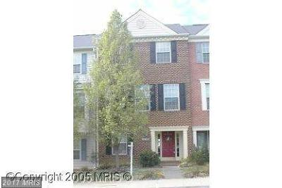 Montgomery Village Townhouse For Sale: 20309 Trolley Crossing Court