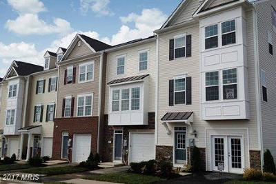 Poolesville Townhouse For Sale: 19553 Wootton Avenue