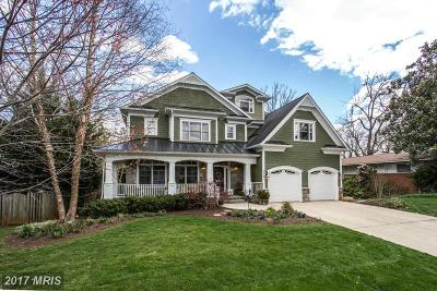 Bethesda Single Family Home For Sale: 7701 Marbury Road