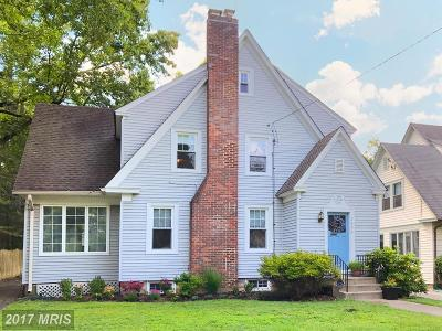Chevy Chase Single Family Home For Sale: 6808 Delaware Street