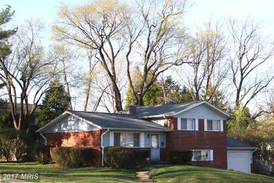 Rockville Single Family Home For Sale: 5000 Aspen Hill Road