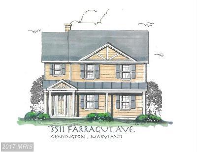 Kensington Single Family Home For Sale: 3511 Farragut Avenue