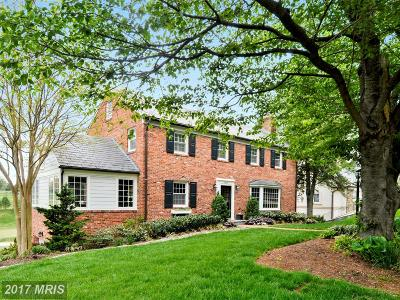 Chevy Chase Single Family Home For Sale: 6420 Garnett Drive