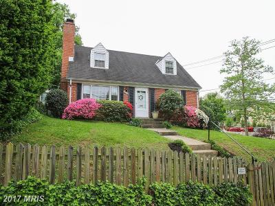 Chevy Chase Single Family Home For Sale: 3518 Shepherd Street