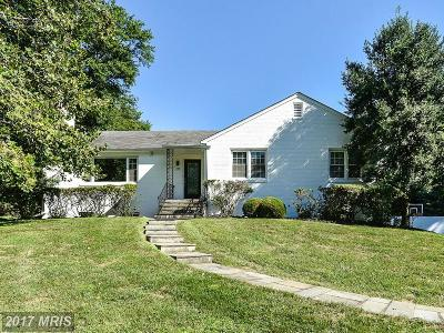 Silver Spring Single Family Home For Sale: 508 Apple Grove Road