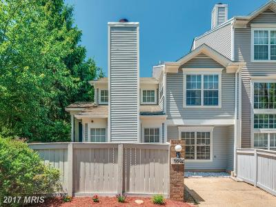 Montgomery Village Townhouse For Sale: 19900 Sugar Notch Circle