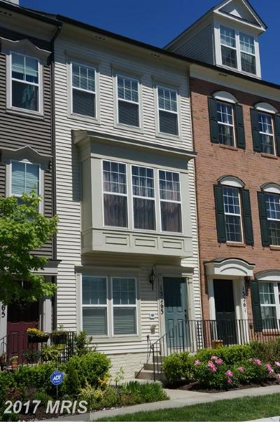 Clarksburg Townhouse For Sale: 13263 Orsay Street #607