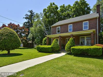 Gaithersburg Single Family Home For Sale: 10 Highland Avenue