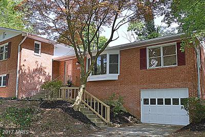 Silver Spring, Wheaton Single Family Home For Sale: 2025 Edgewater Parkway