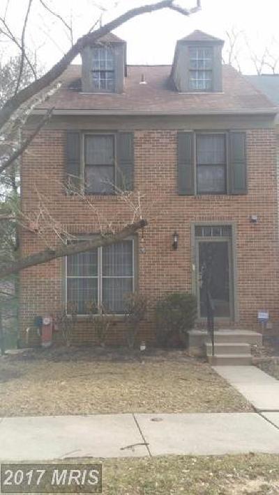 Burtonsville Townhouse For Sale: 3700 Angelton Court