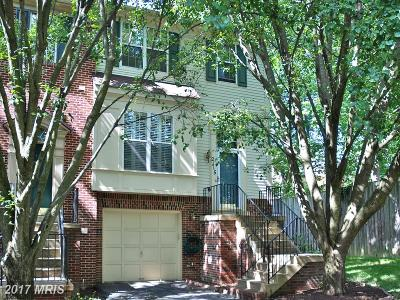 Silver Spring Townhouse For Sale: 2115 Cambridge Park Court #8