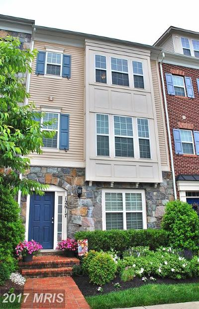 Clarksburg Townhouse For Sale: 12617 Horseshoe Bend Circle