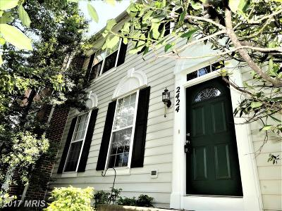 Olney Townhouse For Sale: 2424 Astrid Court