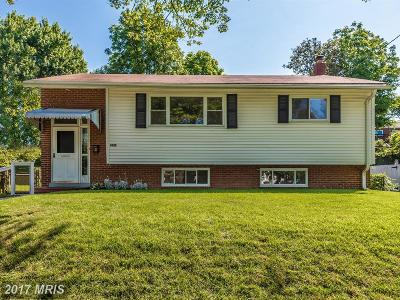 Silver Spring Single Family Home For Sale: 3932 Wendy Lane