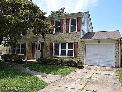 Gaithersburg Single Family Home For Sale: 16704 Shea Lane