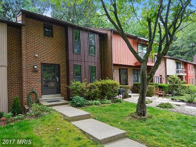 Rockville Townhouse For Sale: 25 Briardale Court