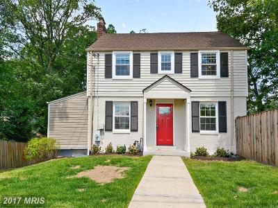 Takoma Park Single Family Home For Sale: 6906 New Hampshire Avenue