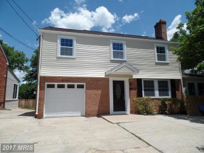 Silver Spring Single Family Home For Sale: 8903 Georgia Avenue