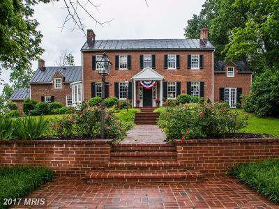 Montgomery, Prince Georges, Anne Arundel, dc, Charles Farm For Sale: 21524 Whites Ferry Road