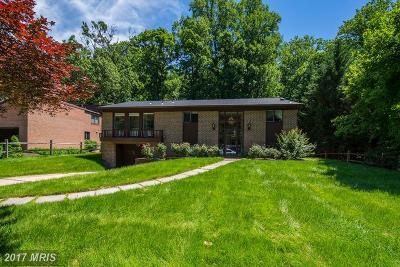 Bethesda Single Family Home For Sale: 7208 Grubby Thicket Way