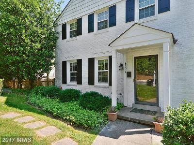 Bethesda Single Family Home For Sale: 6214 Greentree Road