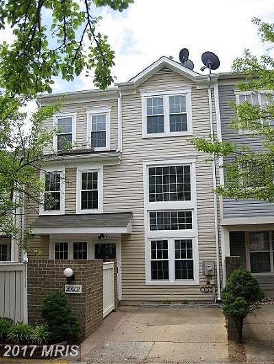 Montgomery Village Townhouse For Sale: 20002 Amesburg Way