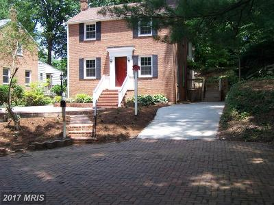 Kensington Single Family Home For Sale: 4311 Puller Drive