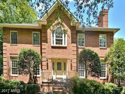 Chevy Chase Single Family Home For Sale: 4003 Jones Bridge Road