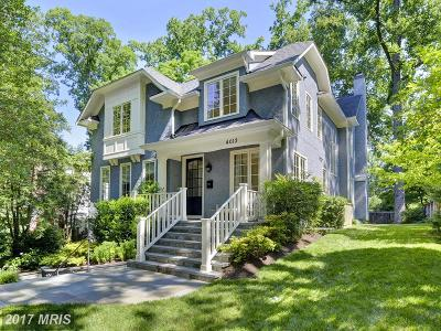 Chevy Chase Single Family Home For Sale: 4013 Thornapple Street