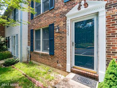 Damascus Townhouse For Sale: 9955 Valley Park Drive
