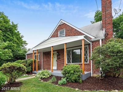 Kensington Single Family Home For Sale: 11009 Waycross Way