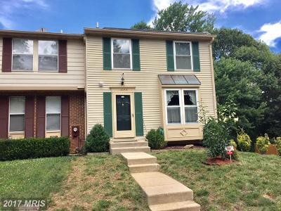 Burtonsville Townhouse For Sale: 14253 Ballinger Terrace