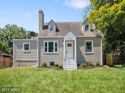 Montgomery Single Family Home For Sale: 11508 Veirs Mill Road