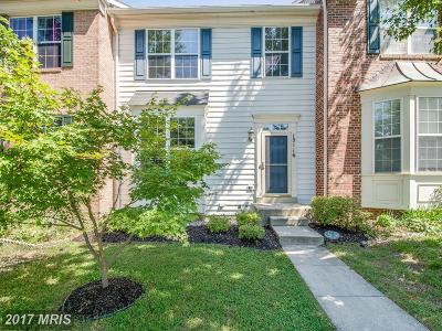 Silver Spring Townhouse For Sale: 15116 Snow Mass Court