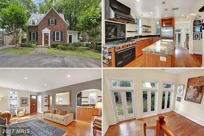 Chevy Chase Single Family Home For Sale: 5104 Bradley Boulevard
